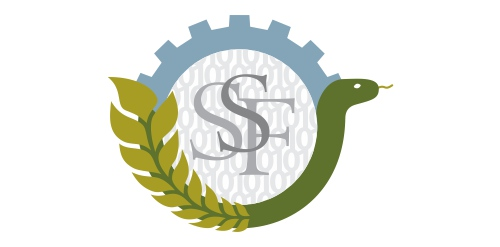 The logo of SSF, The Swedish Foundation for Strategic Research.